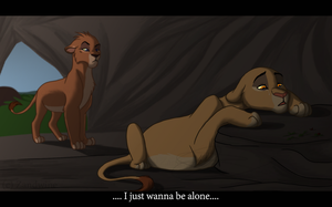 The Lion King - In sorrow I lay by Zandwine