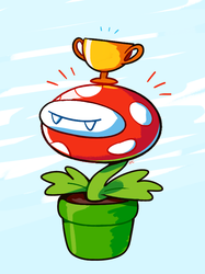 A Proud Plant by HappyCrumble