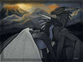 And as the world comes to an end by KenyaFord