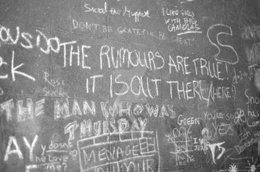 WALL:The RUMOURS are TRUE by mkf5Cd