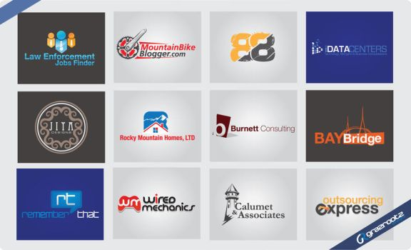 various approved logos by grazrootz
