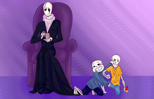 The Things Gaster Endures by MAXpro15