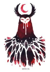Red Owl by Myrntai