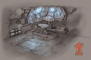Ship Interior Concept 2 by PeNcIl-ReBeLlIoN