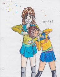 naomi and seiko (corpse party) by smaugthegreat108