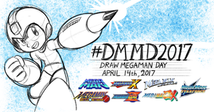 Draw Mega Man Day #DMMD2017 by AndrewDickman