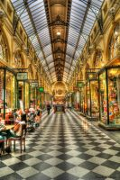 Melbourne City Malls HDR by daniellepowell82