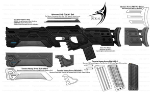 VA-6 Jackal Redesign Final by The-Xie