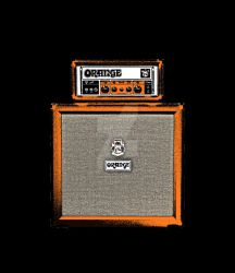 Orange Half Stack Guitar Amp 3 by maggiemgill