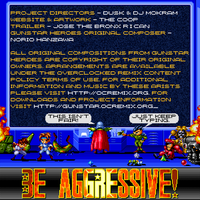 Be Aggressive! inside cover by The-Coop