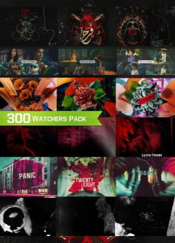 300 Watchers Pack by LilithDemoness