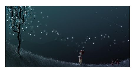 Ten million fireflies by ArtofRoshan