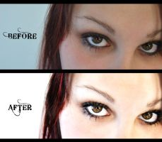 'Believe' Before and After by kpep