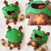 Tree Monster by hellohappycrafts