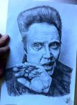 Christopher Walken by MacGuinness