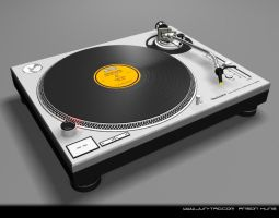 Technics 1200 Turntable by juntao