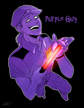 purple guy by Rebe921