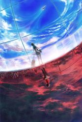 Knite: Two Worlds, One Dream by yuumei