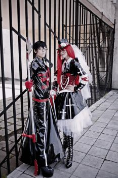 Will and Grell J-rock by Dantelian