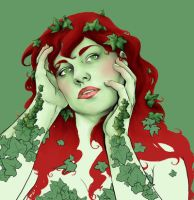 poison ivy by snozombie3