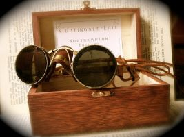 Steampunk Goggles tinted by joffum