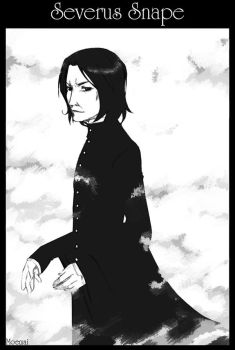 For you, Severus Snape by Moemai