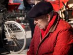 Red coat. Lucca. Italy by jennystokes