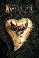 Leather Moth with Jade by SilverclockCostumes