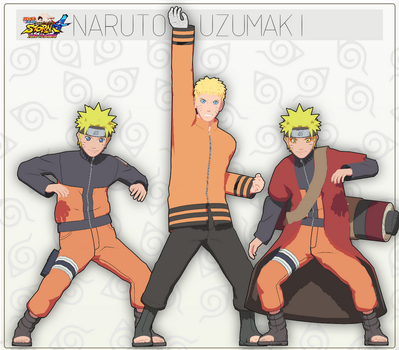 MMD Naruto Uzumaki Pack + DL by NaraShadows