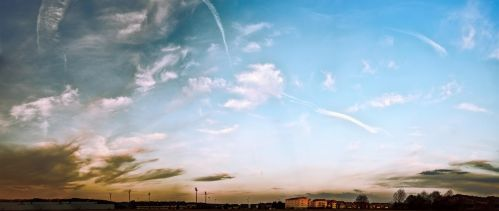 Sky and clouds for composition work. by 8moments