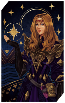 Commission: Star tarot by RedlyJester