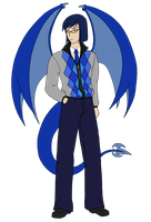 Draco - full body reference by Aisuryuu