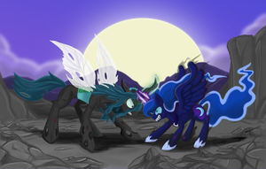Dusking Night Mare... by himanuts