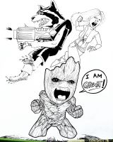 I Am GROOT. by HulkYoda