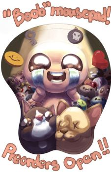 Isaac Mousepad Preorders by TheKiwiSlayer