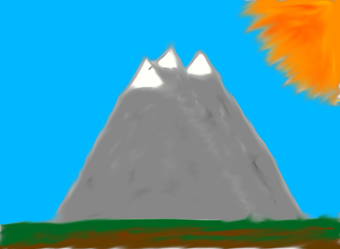 Mountains by FireDaisy365