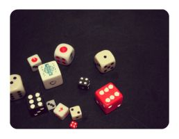 Dice by atychiphobe