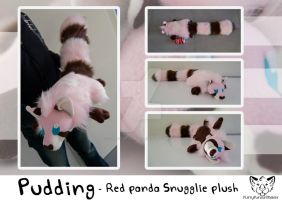 Pudding - Snugglie plush by FurryFursuitMaker