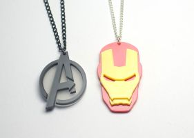 Avengers pendants by Zamataj