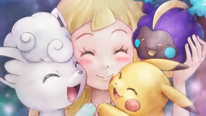 Lillie can finally touch Pokemon Once Again!!!