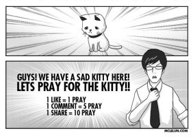 lets pray for the kitteh by mclelun