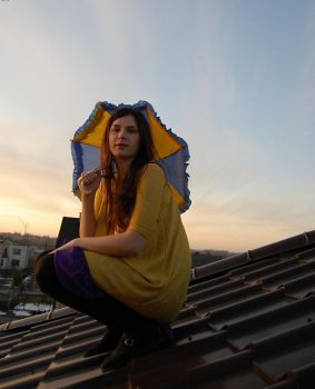 a moment on the roof by marcelllll