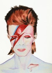 David Bowie Watercolor by manson26