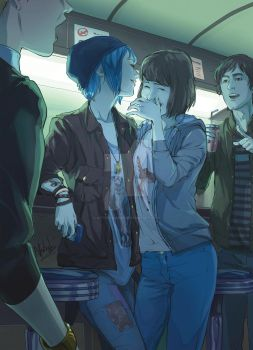 LiS - Two Whales Night Out by Afterlaughs