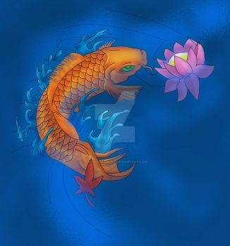 Lucky Koi by The-Sanctuary
