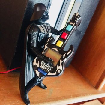 Come to the Dark side we have guitar hero by Alucard4