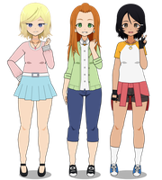 Totally Spies by Sh00keth