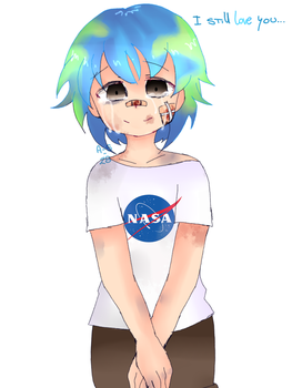 earth-chan by A-S-28