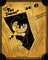 Bendy poster the inking contest entry by Darkartdemon