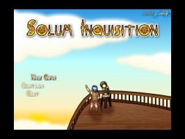 Solum Inquisition Title Screen by darkwes
